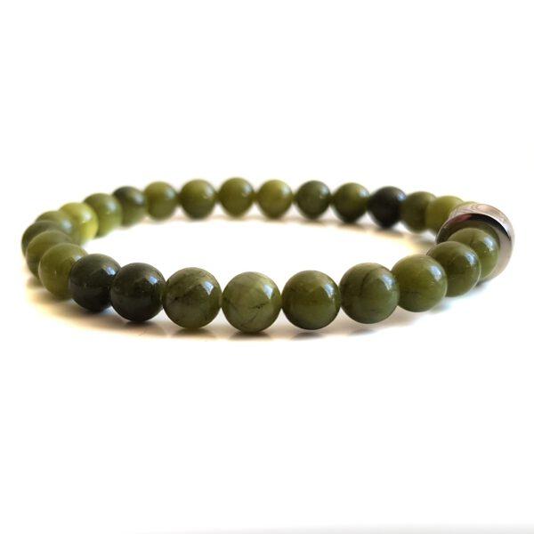 dames-armband-groen-jade-6mm
