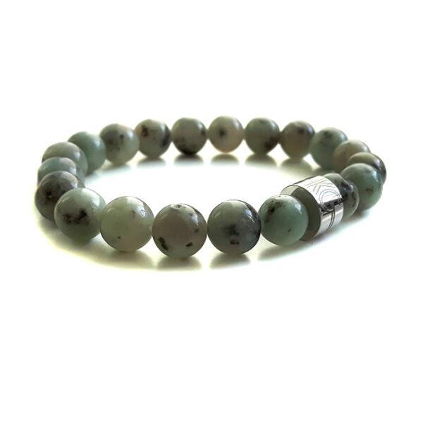 edelsteen kralen armband-tianshan-kristal-graniet